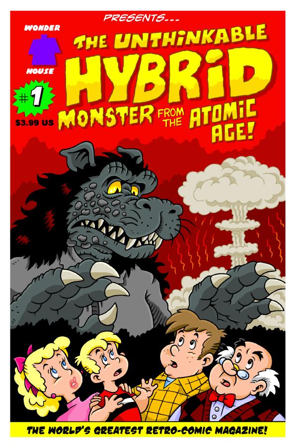 Hybrid #1 New cover!